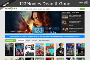 123Movies Shut Down & GoMovies Gone Alternative Sites