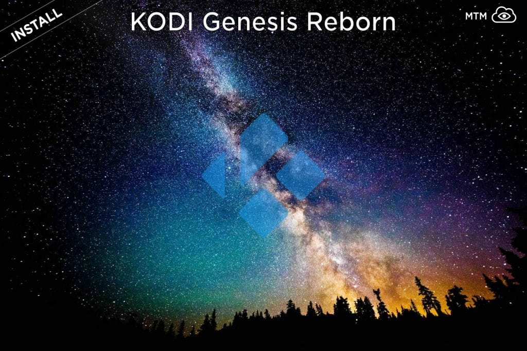 Kodi Addon Genesis Reborn Install from Jesus Box Repo