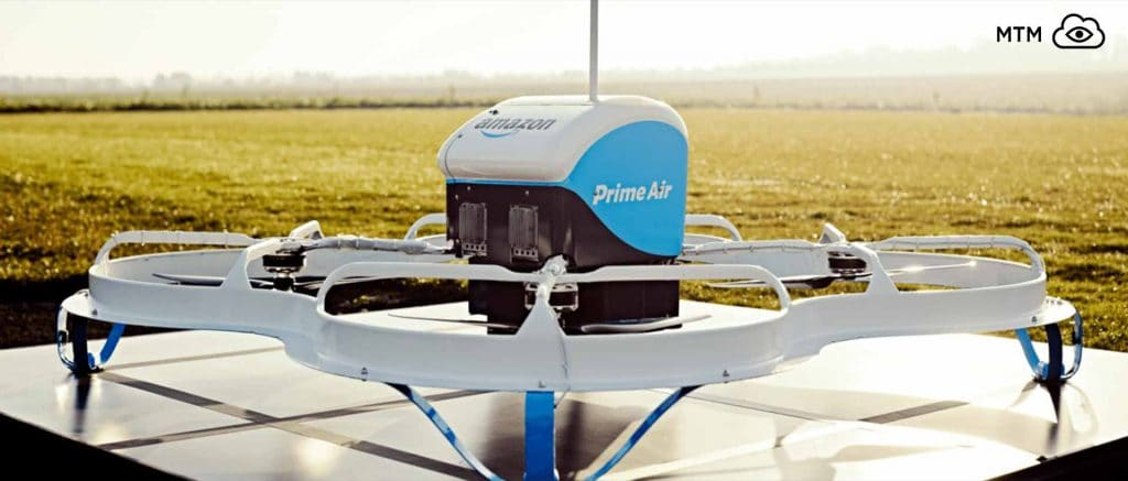 Amazon Prime Air Shipping Drone