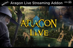 Aragon Live TV Kodi Streaming Addon Install Article