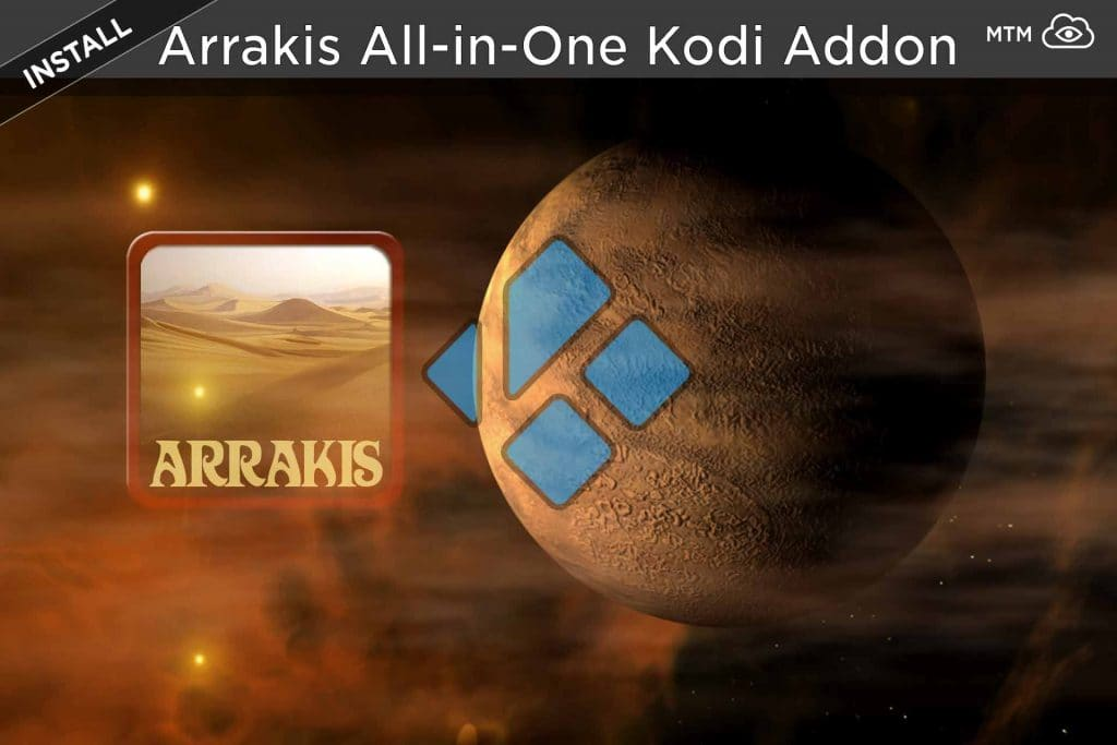 How to Install Arrakis Kodi Addon from Blamo Repo header image