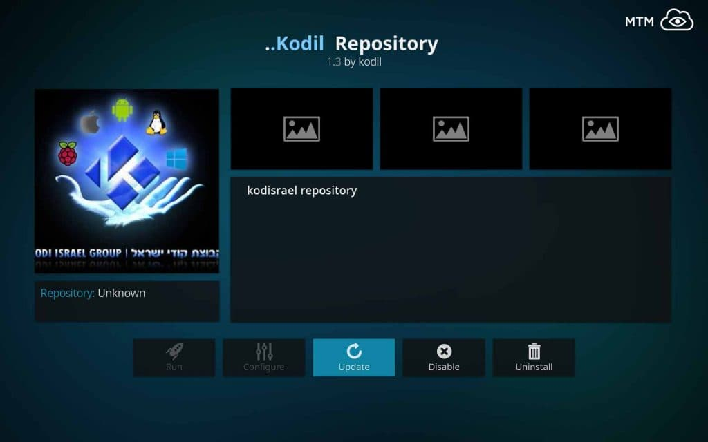 Install Kodil (Kodisrael) Repository for All the Great Classic Kodi Addons