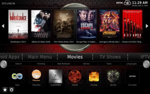 Titanium Build From Kodi Supreme Builds Repository Wizard