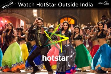 Watch Hotstar Movies, Cricket, Live TV Outside India Header Image