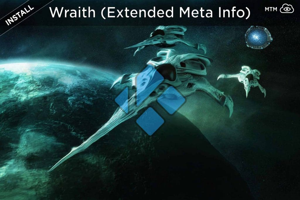 How to Install Wraith Extended Meta Info Kodi Addon header image