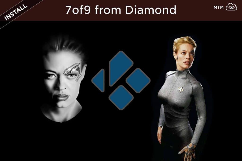 How to Install 7of9 Kodi Playlist Addon from Diamond Wizard Repo header image