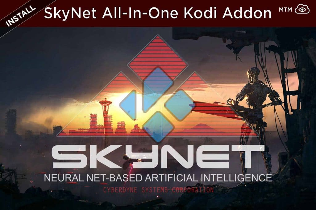 How to Install SkyNet All-in-One Kodi Addon from MaverickTV Repo header image