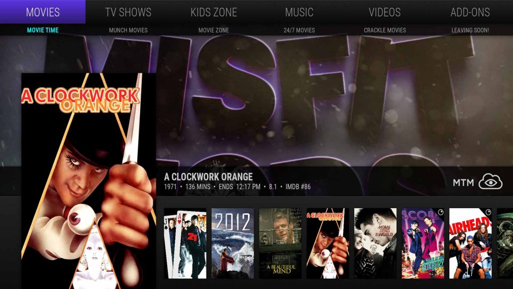 Best Kodi Builds - Misfit Mods Lite Build Movies