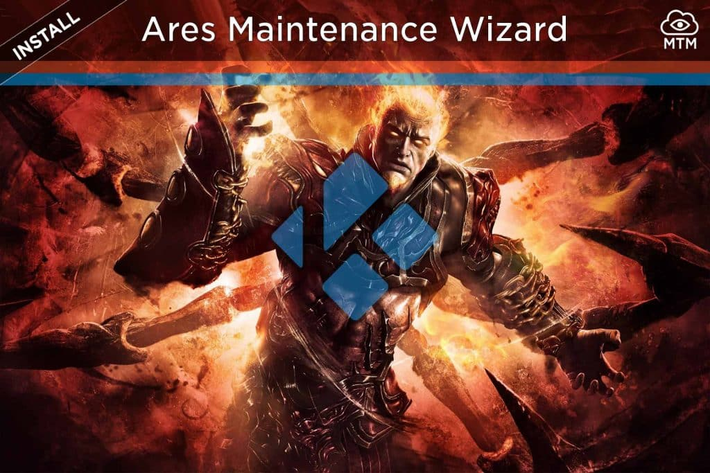 How to Install Ares Wizard Kodi Maintenance Addon header image