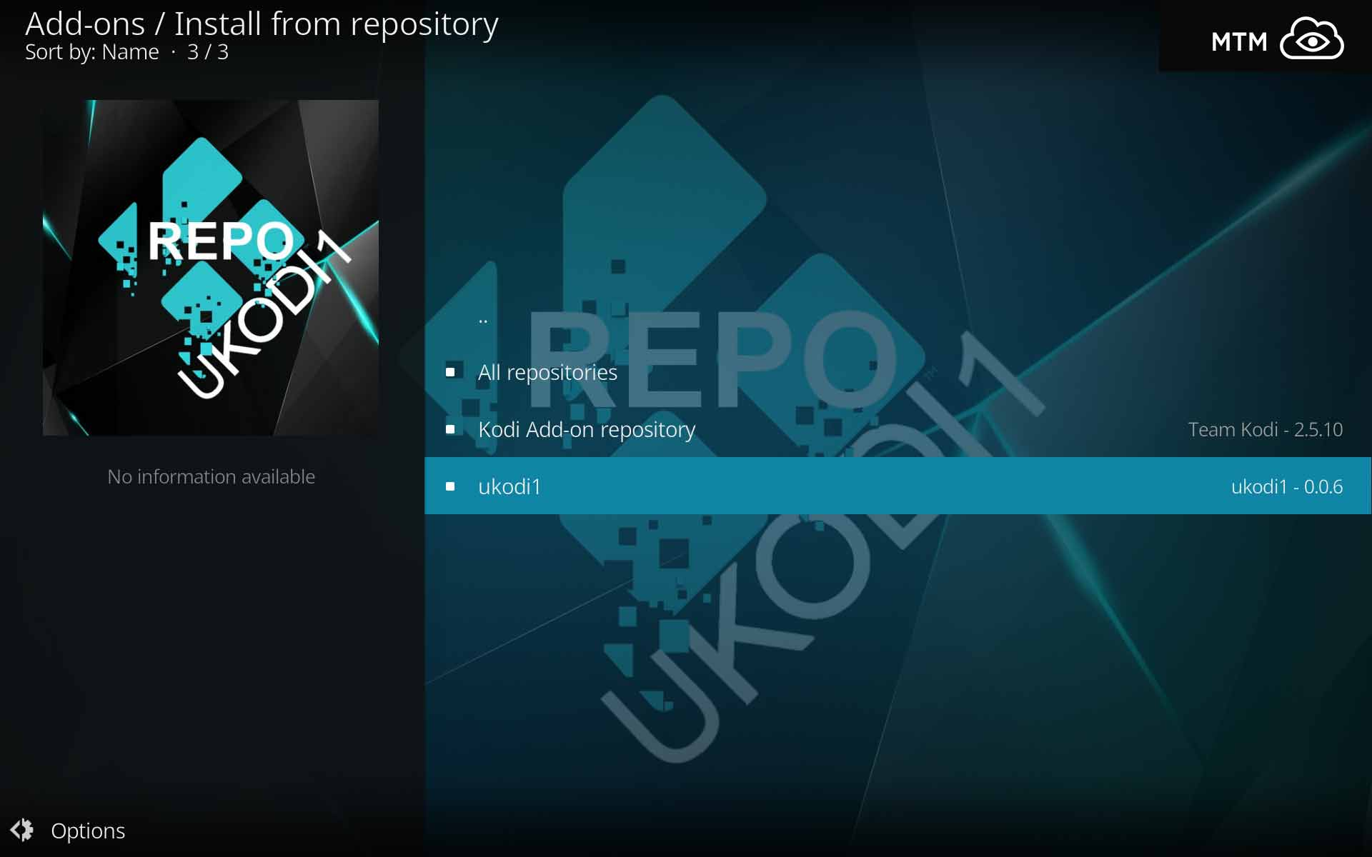 How to Install WOW Combined Kodi Addon from UKodi1 Repo