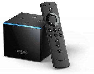 Amazon Fire TV Cube with new Alexa Voice Remote