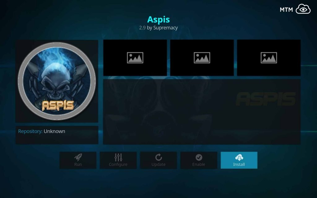 Click to Install Aspis by Supremacy