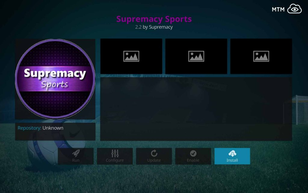 Click to Install Supremacy Sports for Free Live Sports Streams Online