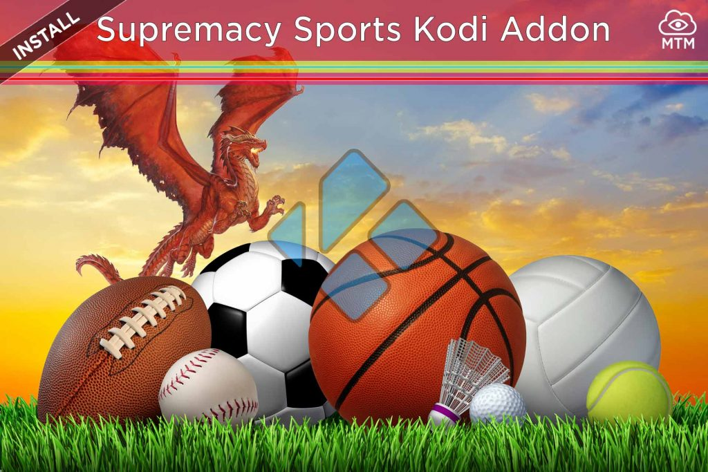 Hot to Install Supremacy Sports Live IPTV Streaming Online Kodi Addon header image