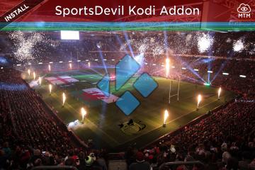 How to install latest SportsDevil for Kodi live TV streams