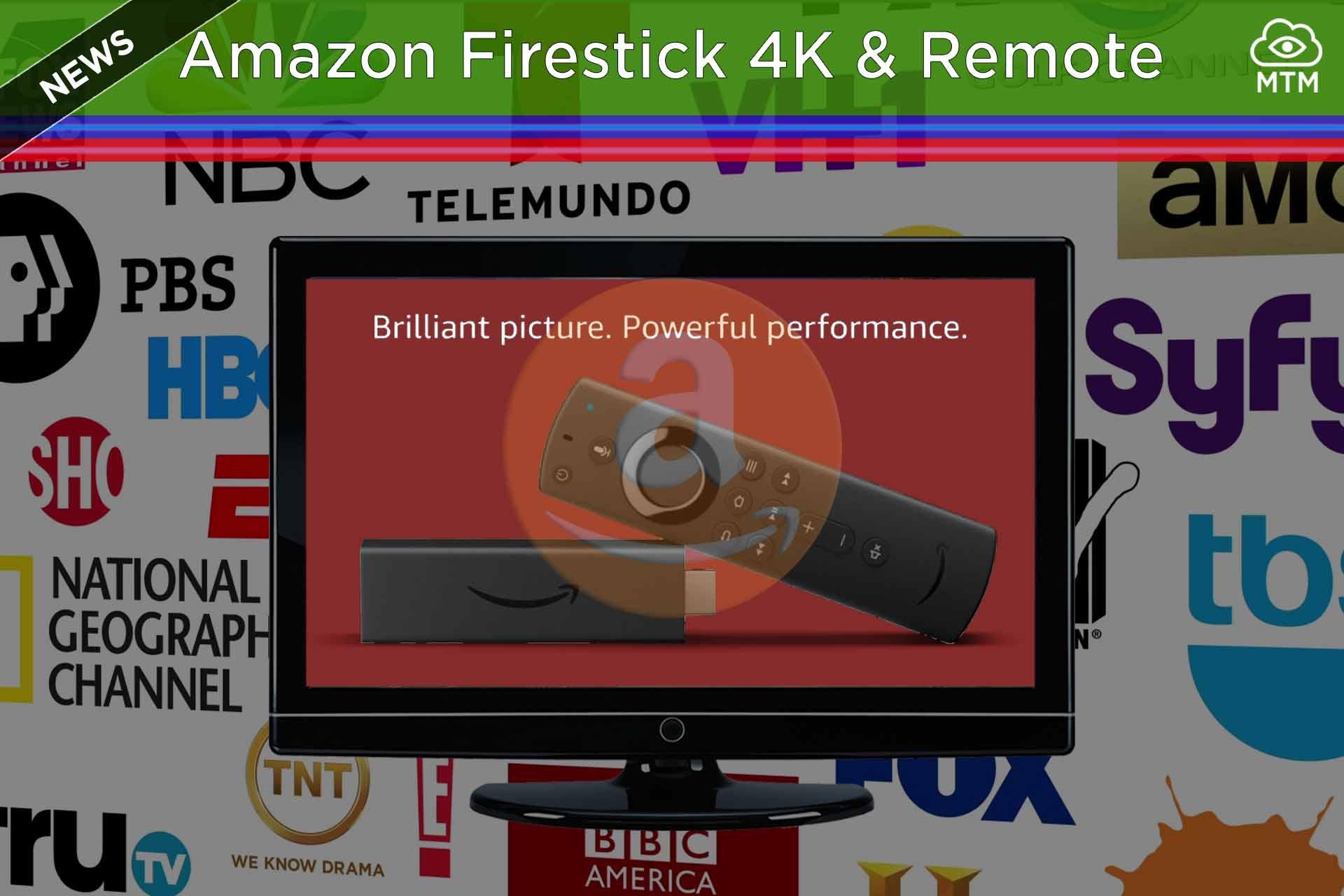 $50 Amazon 4K Firestick & New Improved Remote Control