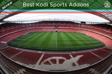 Top Best Kodi Sports Addons Live TV Streaming IPTV header image