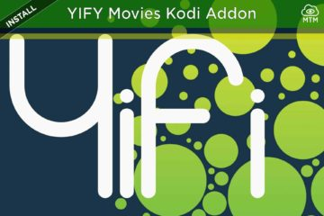How to Install YIFY Movies Torrent Streaming YTS Kodi Addon header image