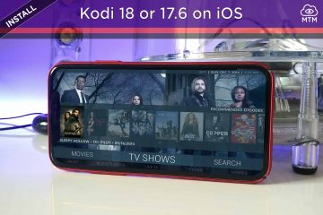 How to Install Kodi 18 or 17.6 on iPhone, iPad or iPod Touch without Jailbreak header image