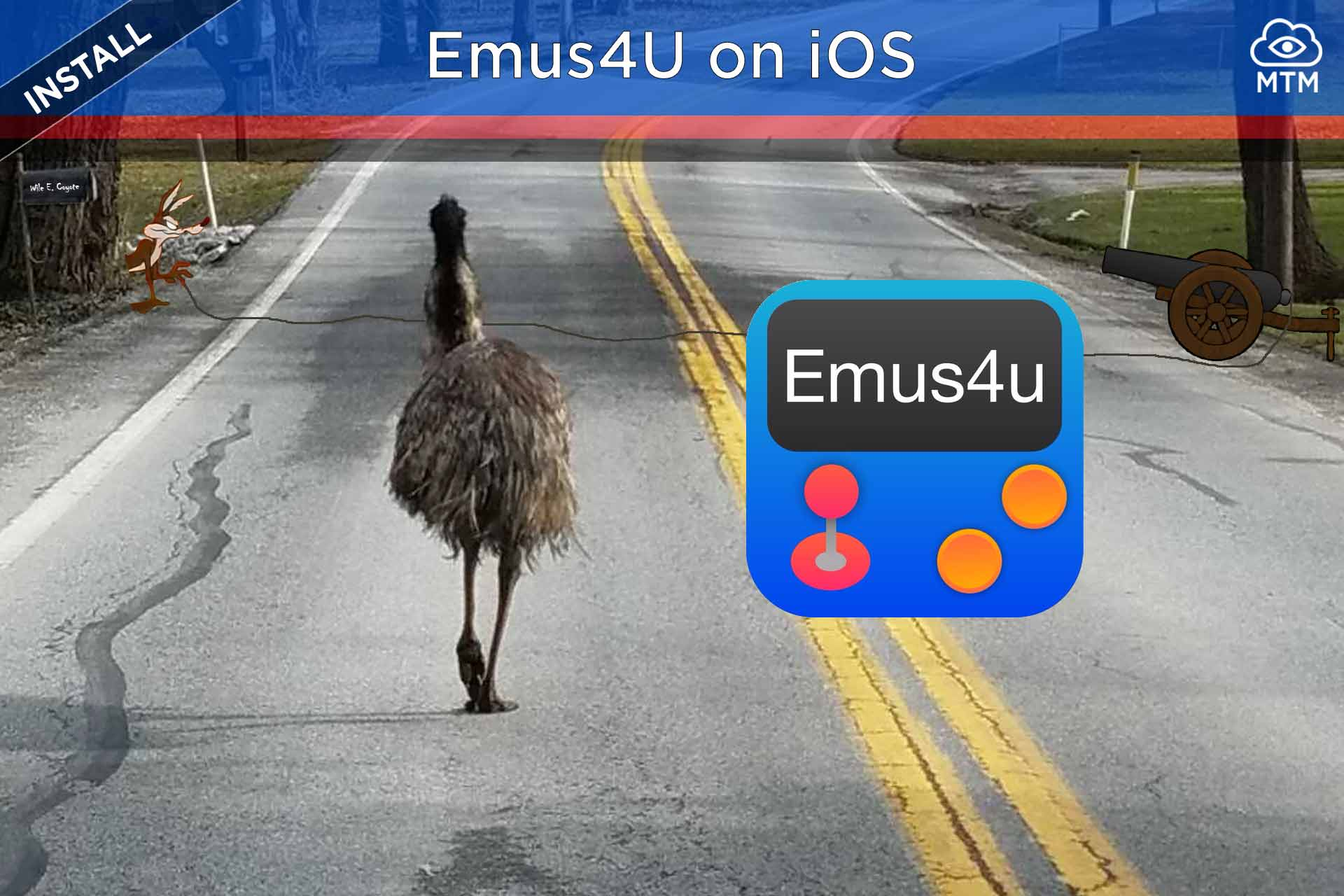 Emus4U Download for iOS Install on iPhone, iPad, iPod Touch