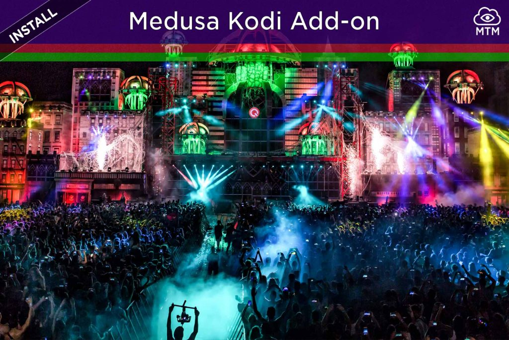 How to Install Medusa Kodi Free Movies TV Addon header image