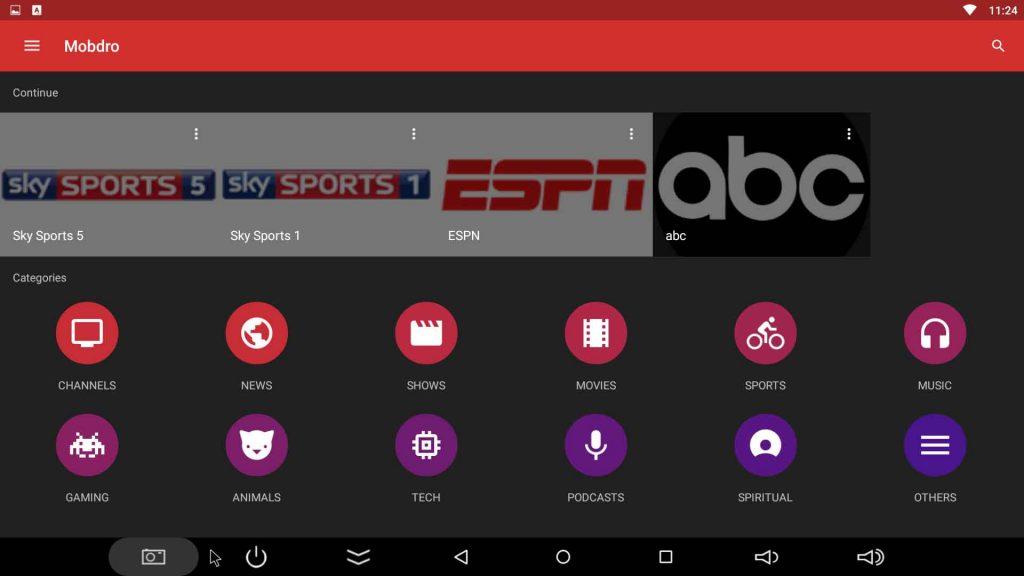 mobdro streaming live tv app for firestick