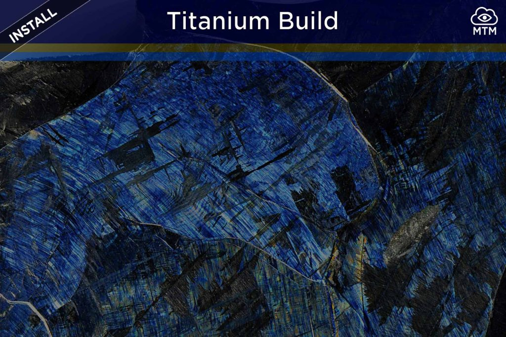 how to install kodi titanium build