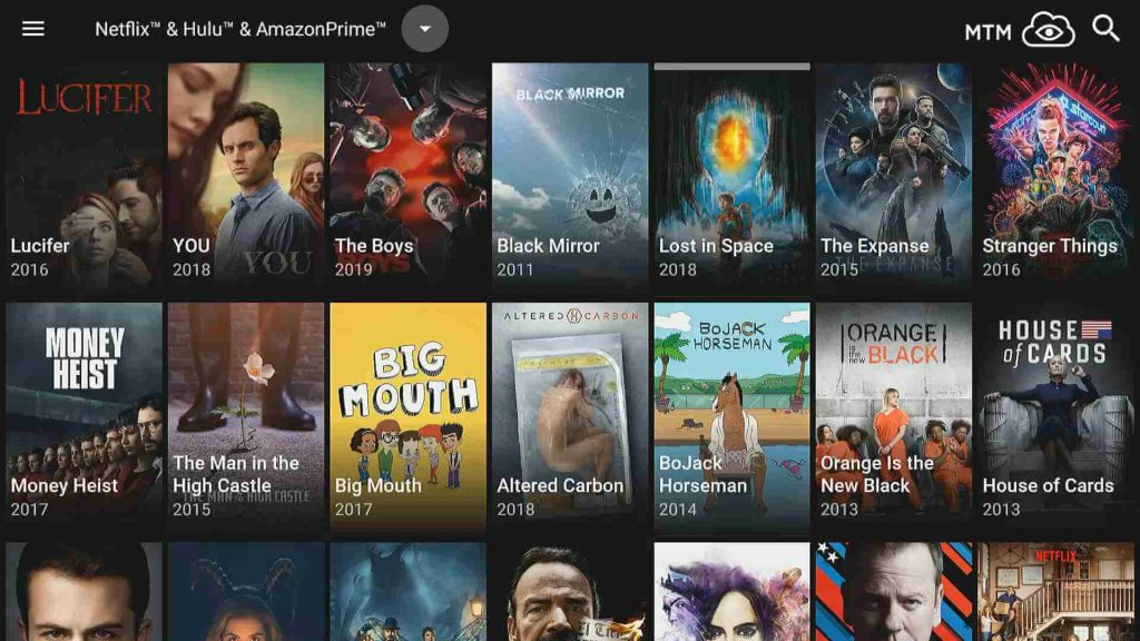 stream netflix, amazon prime video, and hulu with catmouse apk