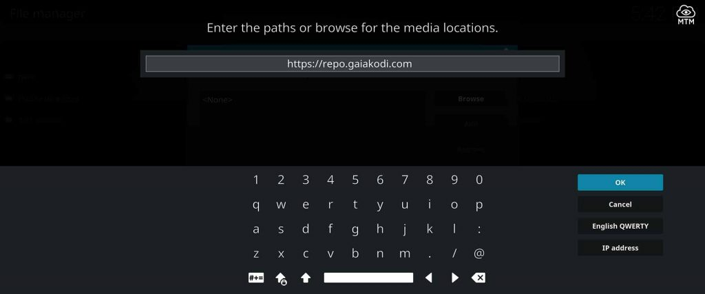 install kodi gaia torrent streaming addon