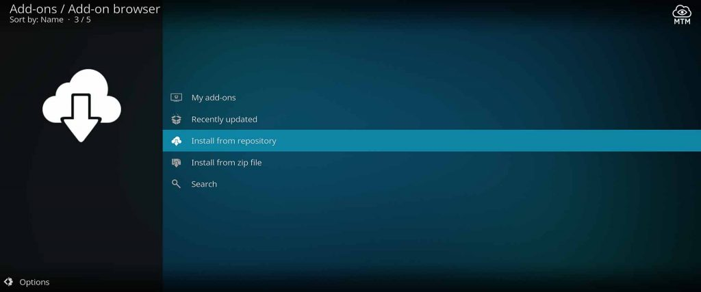 how to get xumo tv add-on installed on kodi