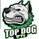 top dog iptv service live channels provider logo
