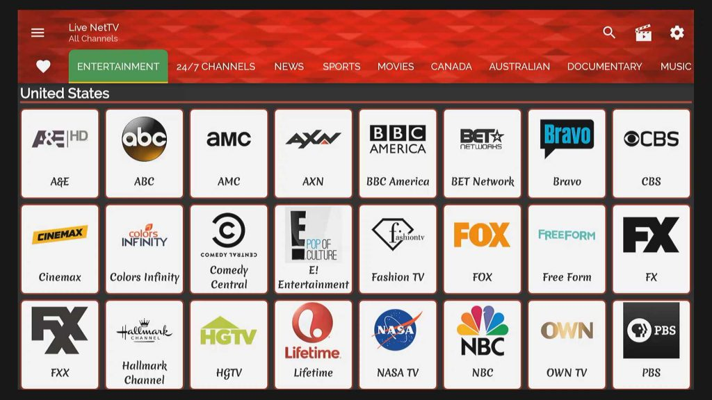 live net tv usa cable channels