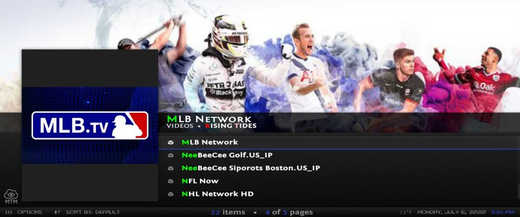 live streaming sports networks