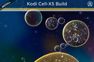 download and install the kodi cell-x5 build