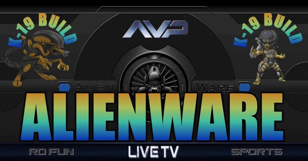 Alienware Kodi 19 Matrix Build
